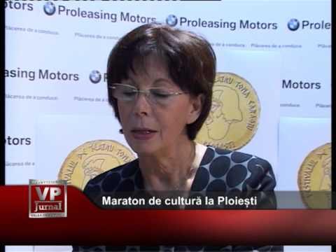 Maraton de cultură la Ploiești