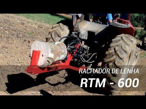 Rachador de Lenha a trator Lippel RTM 600