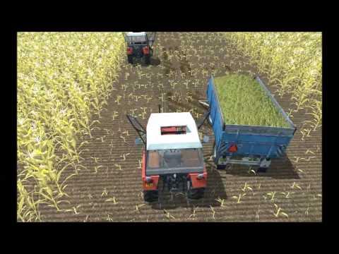 Farming Simulator 2013 - More Realistic mod preview -Zetor 7711 and 7745:  No LINKS !!!!!