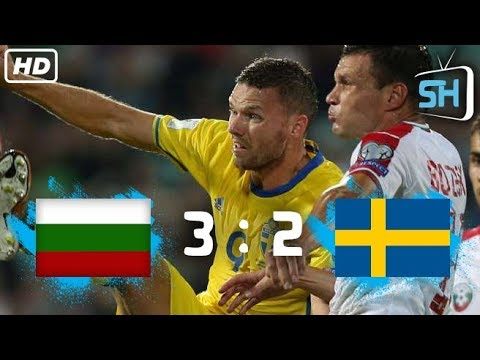 Bulgaria vs Sweden 3-2 World Cup Qualifiers All Goals and Highlights August 31,2017