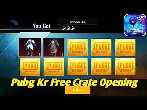 New Premium & Classic Crate Opening Pubg Mobile Kr   Pubg Mobile Kr Free Crate Opening