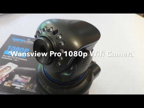 Wansview Pro 1080p Indoor Wifi Camera