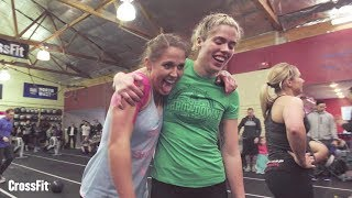"""Kitsap CrossFit in Poulsbo, Washington, hosts an annual competition called My First Throwdown. The yearly event is set up to encourage athletes to participate in their first competition.Husband and wife Dan and Amy Hollingsworth run the affiliate and created My First Throwdown with members in mind.""""So many of our members love the competition side of it but look at it as something they'll never do; it's just something that they'll be there to support,"""" Dan says. """"So we thought … let's turn it around. Let's show them that they can do it.""""Proceeds from the competition go to Survive and Thrive (http://www.surviveandthrivefitness.org) , a program that takes young-adult cancer survivors on wilderness expeditions and helps them reconnect with the world and rebuild their lives.Video by Mike KoslapThe CrossFit Journal -- (http://journal.crossfit.com)The CrossFit Games® - The Sport of Fitness™The Fittest On Earth™"""