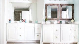 Master Bathroom Organization and Updates
