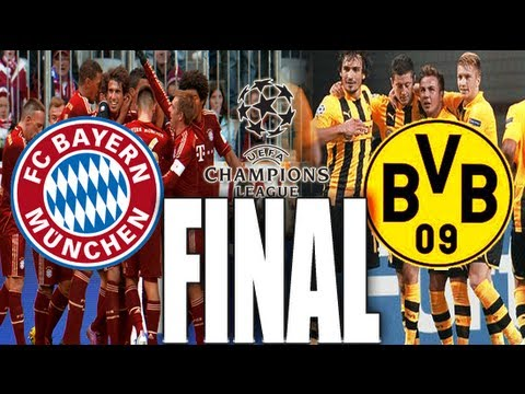 Video Road To Wembley, Borussia Dortmund vs Bayern Munich
