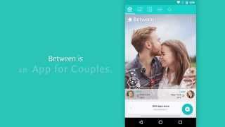 Between - Private Couples App YouTube video