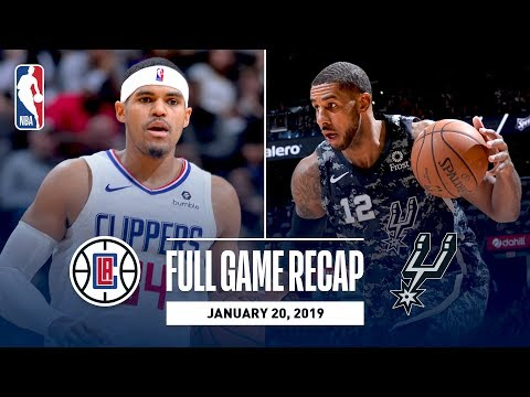 Video: Full Game Recap: Clippers vs Spurs | Tobias Harris Does It All For LAC