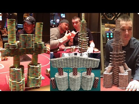 How to make CRAZY poker chip towers!