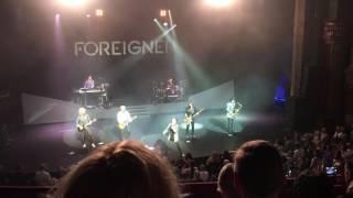 Foreigner - Urgent at London Palladium, 07/06/2016