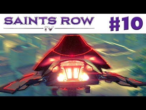 Saints Row IV – Gameplay Walkthrough Part 10 – UFO Mayhem (PC, Xbox 360, PS3)