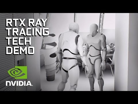 NVIDIA RTX and GameWorks Ray Tracing Technology Demonstration (видео)
