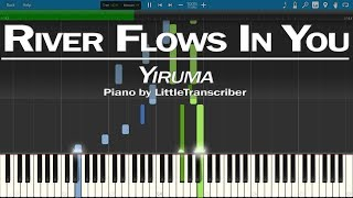 Video Yiruma - River Flows In You (Piano Cover) LittleTranscriber Version MP3, 3GP, MP4, WEBM, AVI, FLV Januari 2018
