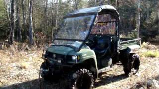 8. John Deere Gator 620I XUV REVIEW TEST DRIVE