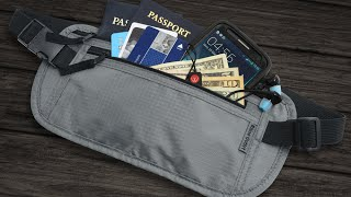 Features of Rhino's Travel Wallet