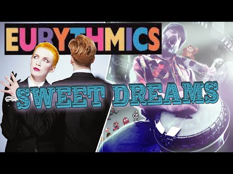 Eurythmics - Sweet Dreams banjo cover video