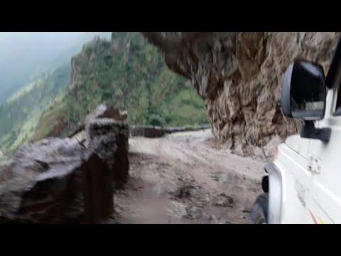 Most Dangerous Road in The World (Manang Nepal)-2017