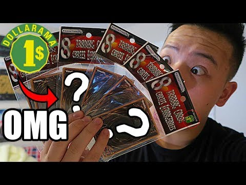 *YUGIOH* ANOTHER INSANE $1 DOLLARAMA MYSTERY PACK OPENING! X6! MY LUCK HASN'T STOPPED (PART 3)