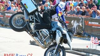 BMW R 1200 GS, BMW Motorrad Days 2013, Chris Pfeiffer, Stunt Riding, GS 1200, R 1200 GS LC