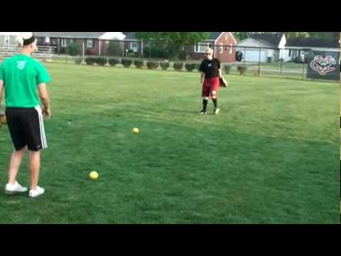 Fastpitch Outfielder Drills