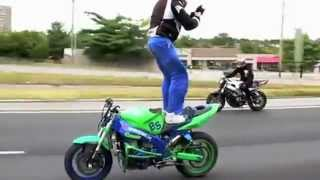 Facebook Status Standing On Motorbike