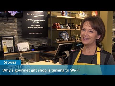 Keeping Customers Connected: Why a gourmet gift shop is turning to Wi-Fi