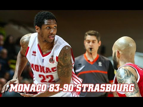 Pro A — Monaco 83 - 90 Strasbourg — Highlights