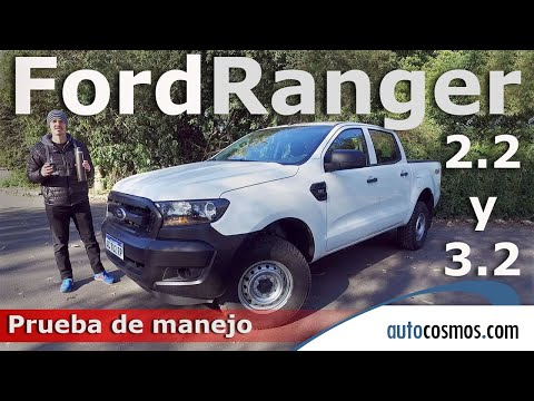 Test Ford Ranger 3.2 y 2.2