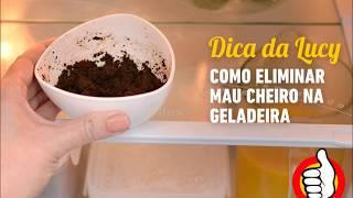 Pra eliminar quaisquer mau cheiro na geladeira bastar colocar essa mistura dentro da geladeira após fazer limpeza com água e detergenteMisture:02 colheres de pó de café01 limao espremidoColoque na geladeira por até 3 diasFacebook: Lucy Mizael Instagram @dicasdalucymizaelSite: dicasdalucy.com.br