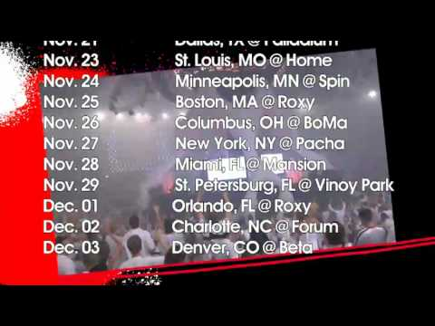David Guetta US TOUR '09 Trailer