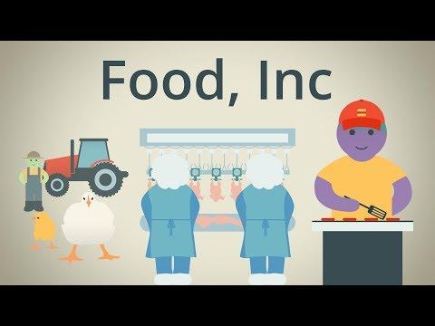 Documentário Food, Inc - O que você precisa saber sobre Comida SA / Alimentos SA
