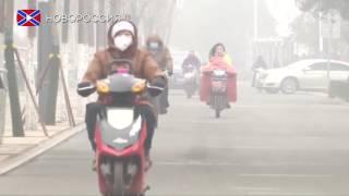 Китай впервые объявил наивысший уровень опасности из-за смога