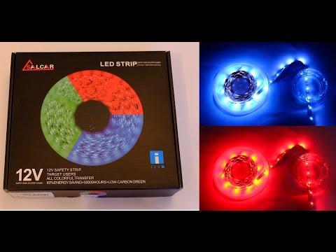 5m LED-Streifen Salcar Lichterkette (20 Farben) - Unboxing, Praxistest, Erfahrungen
