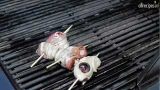 Sint-jakobsschelpen van de barbecue