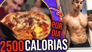 Dieta para emagrecer - DIETA PARA DEFINIR NA PRÁTICA!  Perdendo a barriga ep. 6
