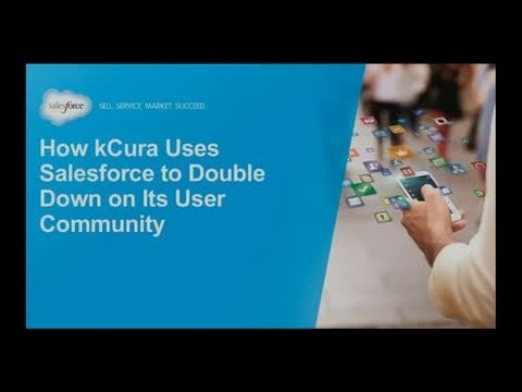 Re-imagine Service: How kCura Uses Salesforce Communities to Reduce Friction