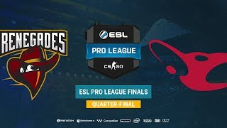 Renegades vs mousesports - ESL Pro League S8 Finals - map2 - de_mirage [sl4m & Strike]