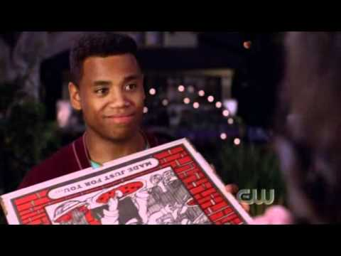Mekia on 90210 2x05 PART 1