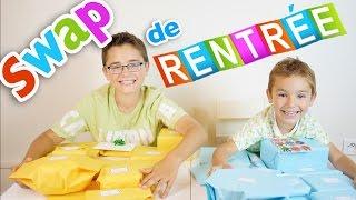 Video SWAP de RENTRÉE des CLASSES, entre Frères - Partie 1/2 MP3, 3GP, MP4, WEBM, AVI, FLV September 2017