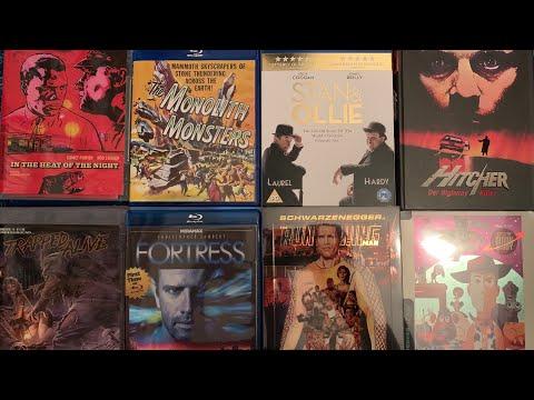 May 2019 Blu ray collection update. 18 titles arrow, indicator, eureka, criterion, mondo steelbook