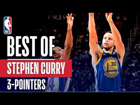 Video: Stephen Curry's Best 3 Pointers From The 2018-19 NBA Season