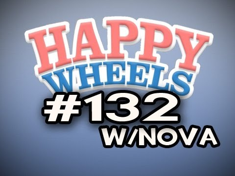 Happy Wheels w/Nova Ep.132 - Mini Game Mania Video