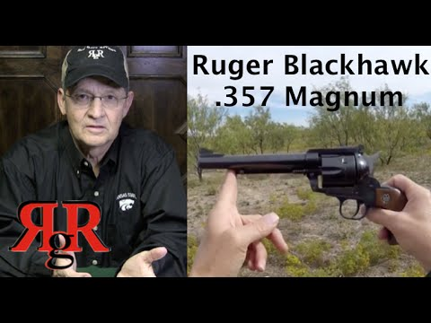 ruger - This is an on the range review of the Ruger .357 Magnum Blackhawk. An overview of the history of Ruger's revolver development is also discussed. Check out ou...