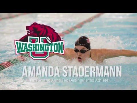 Amanda Stadermann - Distinguished Athlete Award Winner