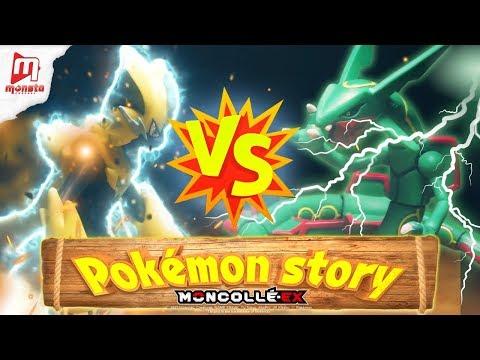 """Pokémon Moncollé Story """"Zeraora VS Rayquaza! - Thời lượng: 2 phút, 2 giây."""