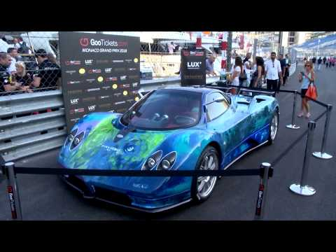 Cars: Pagani's Zonda S completely redesigned
