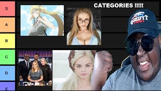 The Greatest Tier List In Human History