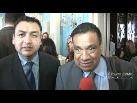Jordge Hernandez and Francisco Sanchez Robles  at Gracie Mansion, NY