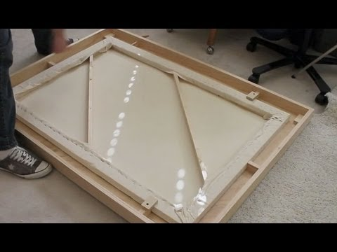 Frame - This video demonstrates the steps to build a picture frame for a painting on canvas.