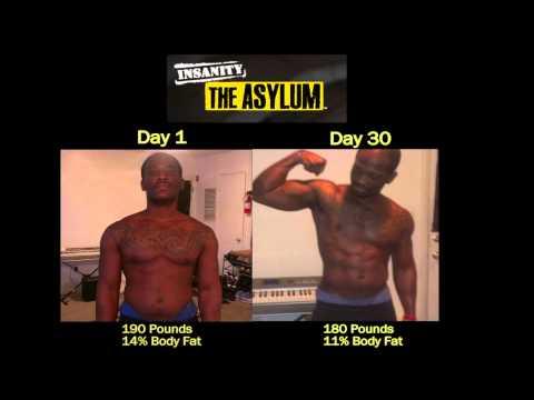 P90X Insanity Asylum Results – Richard drops 50 lbs! Gets Ripped!!