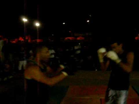 Apresentação de Muay Thai em Iaciara-GO